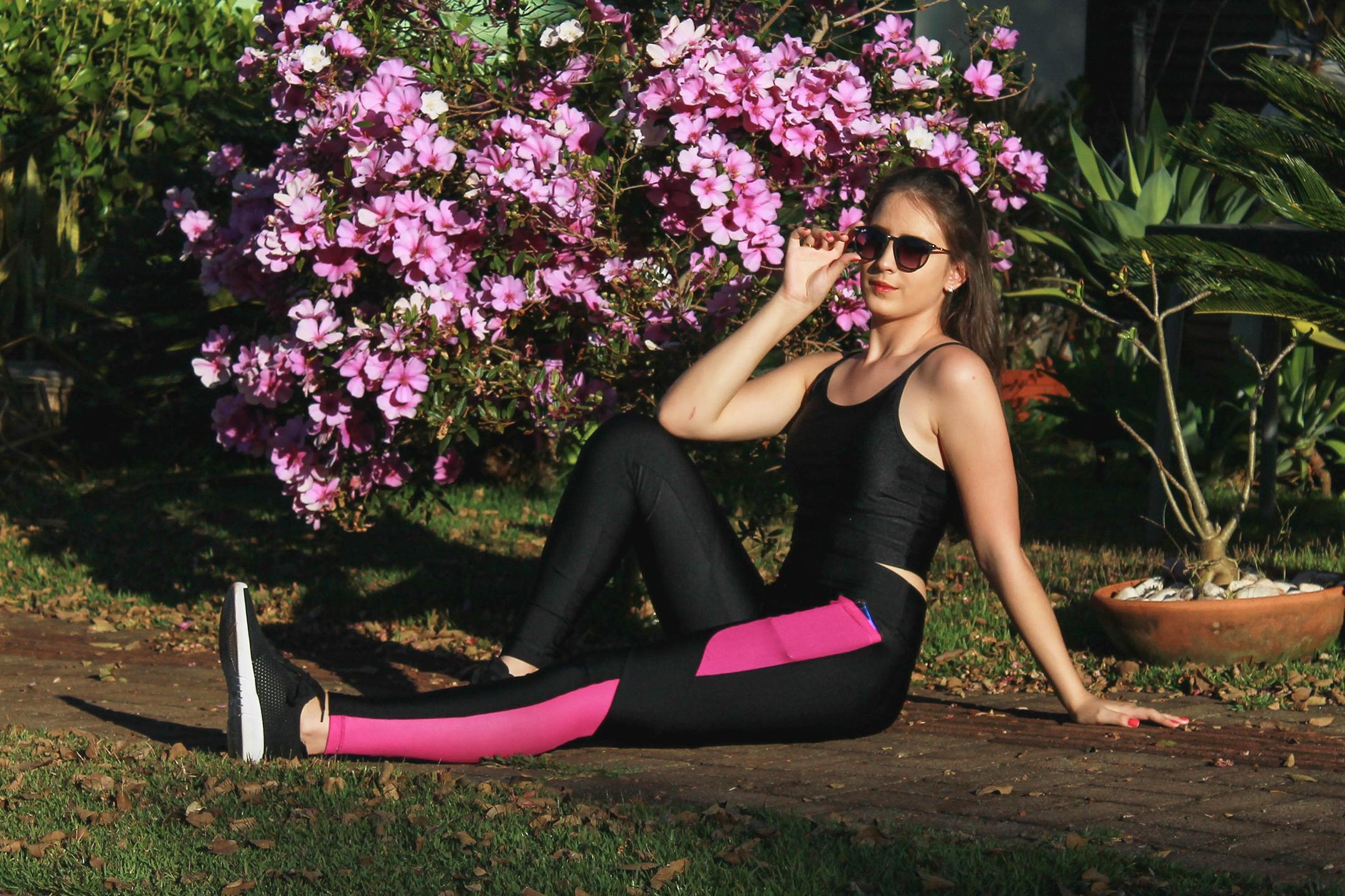 Flor Cítrica Moda Fitness e Casual