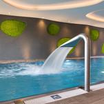 Sobí (norskýú mech v bazénu