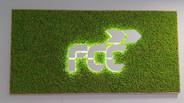 světelné logo, norský mech - Spring green