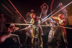 Chorus in Orfeo ed Euridice 2017 (Longborough Festival Opera)
