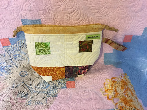 Quilted Patchwork Small Bag