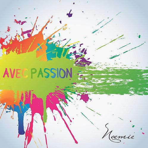 Album AVEC PASSION (digital)