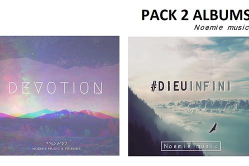 Pack 2 albums (en digital)