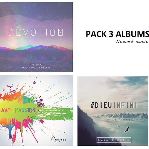 pack 3 albums (en digital)