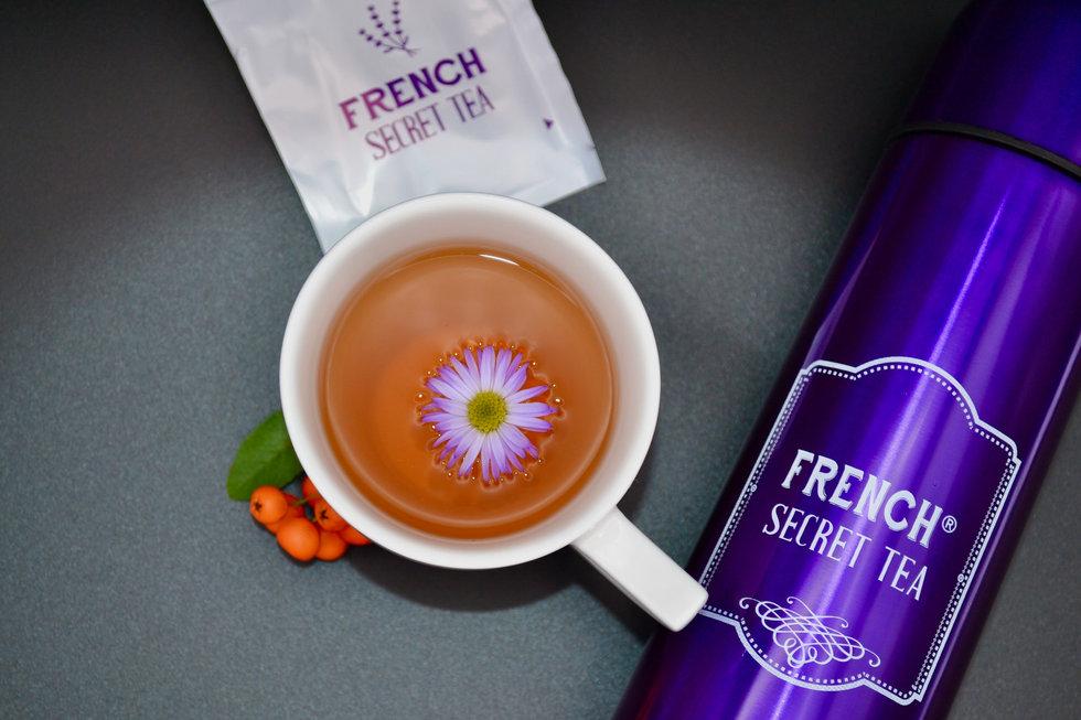 Tasse Tee Thermos French Secret Tea Deto