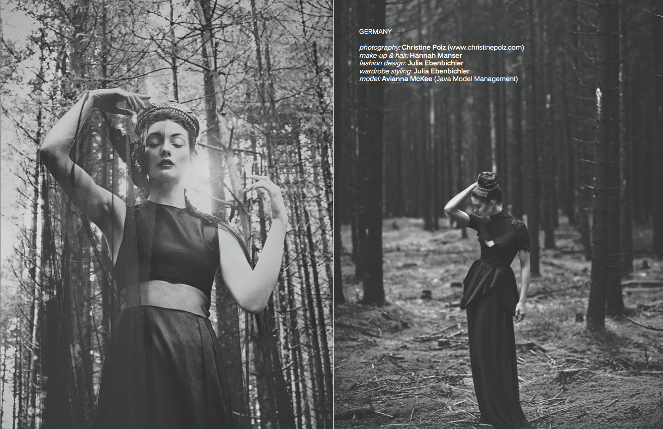 Editorial for Veux Magazine