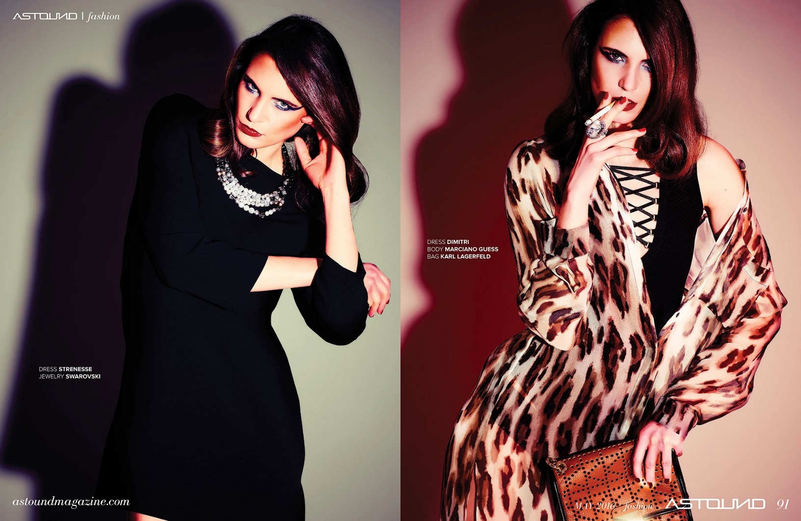 Fashion Story for Astound Magazine