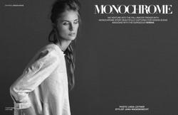 Monochrome for Design Scene magazine