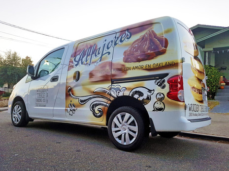 Wooden Table Baking Co. Van Wrap