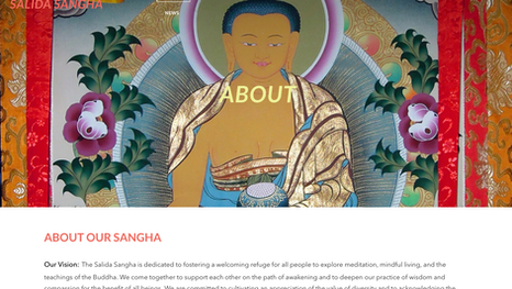Salida Sangha Website