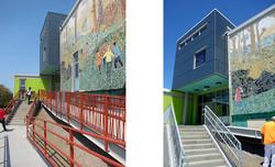 Webster Elementary Entrance