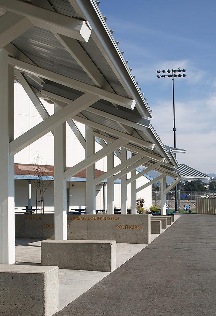 Oakland High School Lunch Shelter