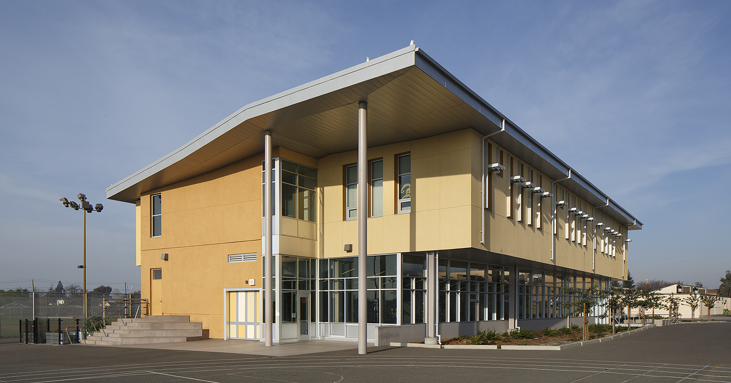 Havenscourt Middle School Exterior