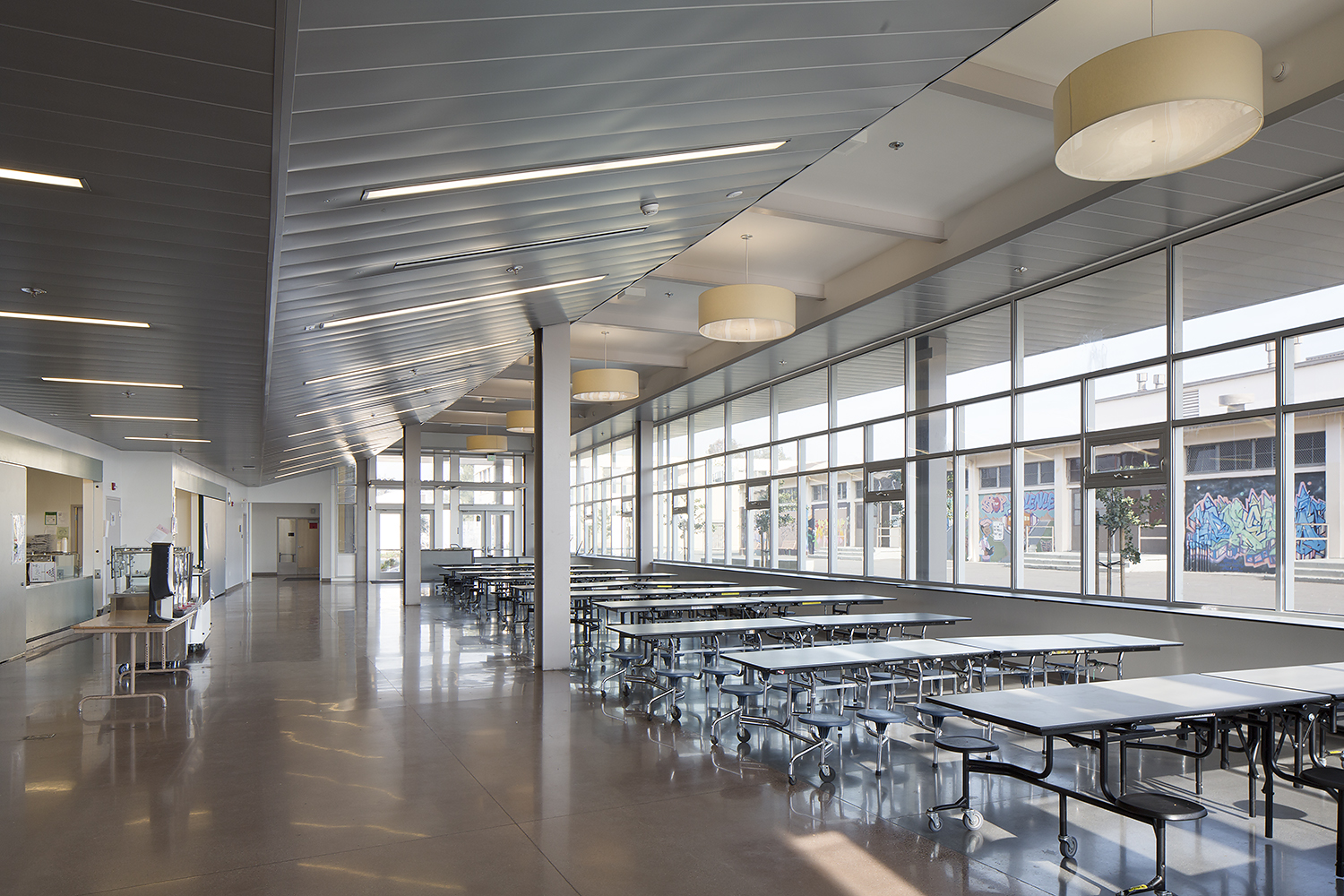 Havenscourt Middle School Cafeteria