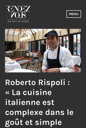Roberto Rispoli Royal Monceau