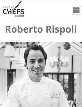 Roberto Rispoli Chefs Summit