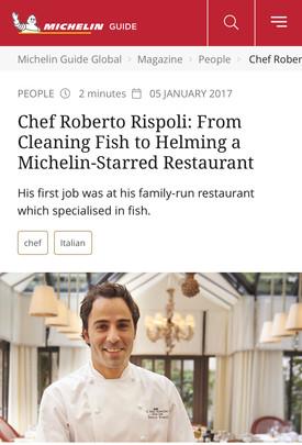 Roberto Rispoli Guide Michelin