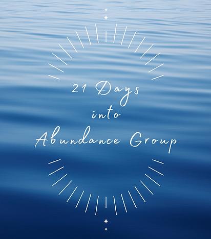 21 days into Abundance.png