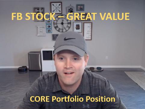 FB Stock Fundamentals - Great Value - Core Portfolio Position
