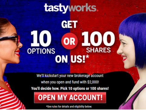 Tastyworks Stock Trading Platform - My Experience and Poor Choices