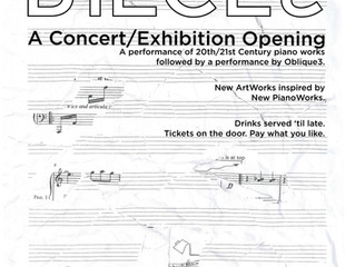 PIANOPIECES: A Concert/Exhibition @ The Abacus