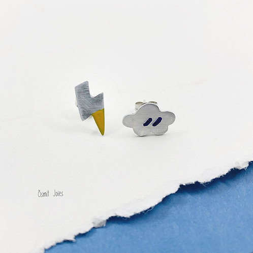 Pendientes Mini Rayo-Nube