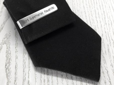Pasador de corbata personalizado