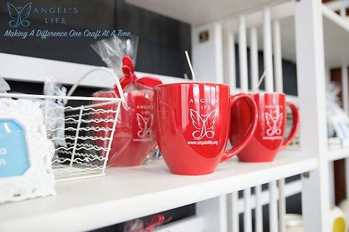 Red Signature Mug