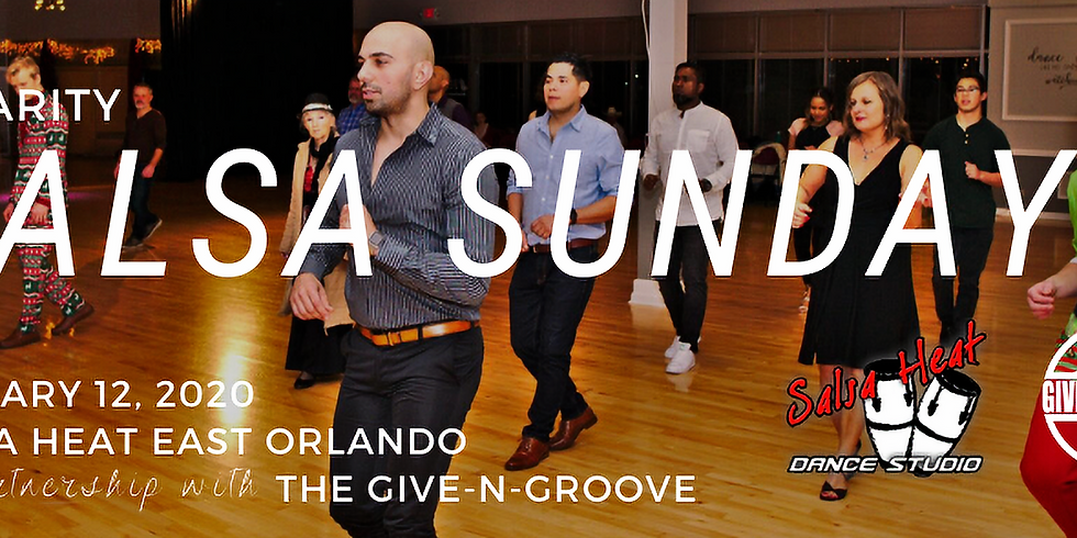 Salsa Sunday - Dancing for a Cause