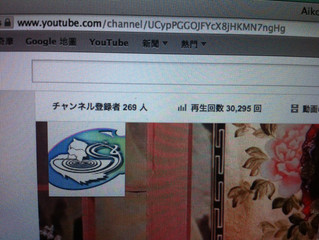 【祝】YouTube Ch.開設5ヶ月で再生回数3万回突破!!