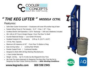 Cooler Concepts - Keg Lifter
