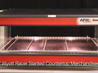 APW Wyott- Slanted Countertop Merchandiser