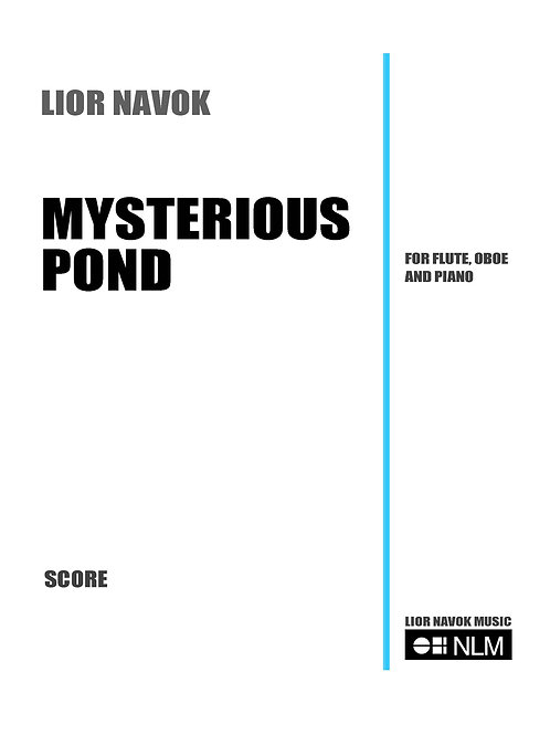 Mysterious Pond (score and parts) [PDF download)