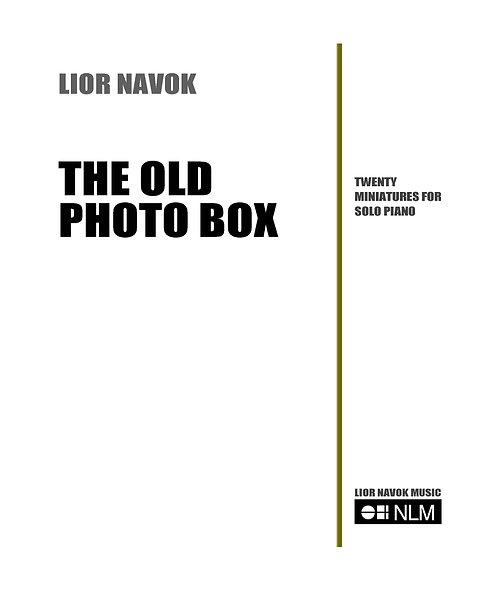 """The Old Photo Box"" - for Solo Piano [Hard Copy]"