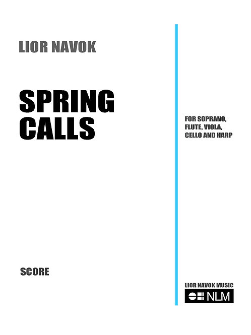 Spring Calls (set of parts) [PDF download]