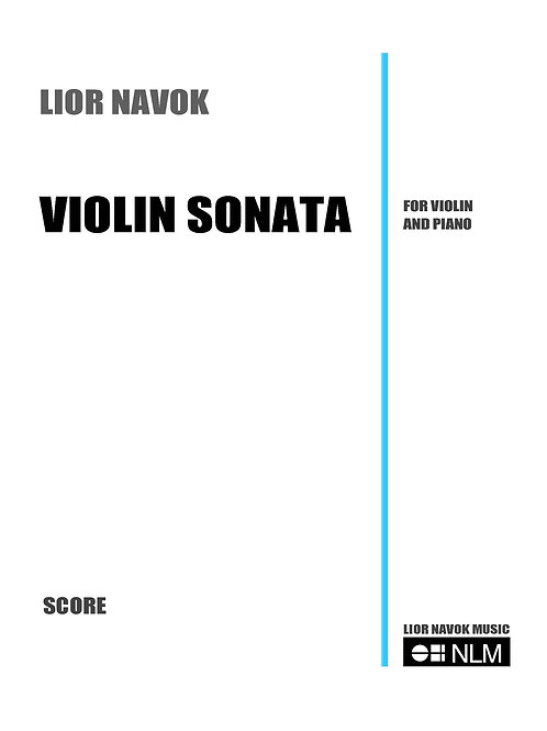 Violin Sonata [Hard Copy]