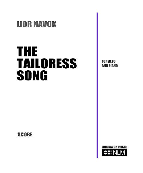 The Tailoress Song [PDF download]