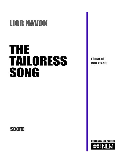 The Tailoress Song [Hard Copy]