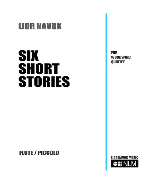 Six Short Stories for Woodwind Quintet  [Hard Copy]