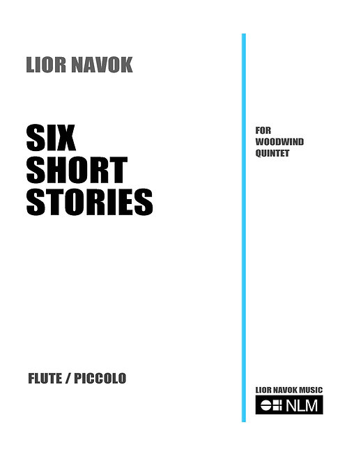 Six Short Stories for Woodwind Quintet (set of parts) [PDF download]