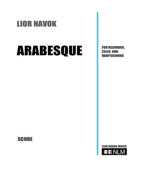 Arabesque (full score) [PDF download]