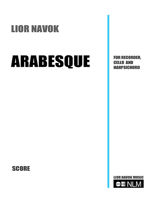Arabesque (full score + parts) [PDF download]