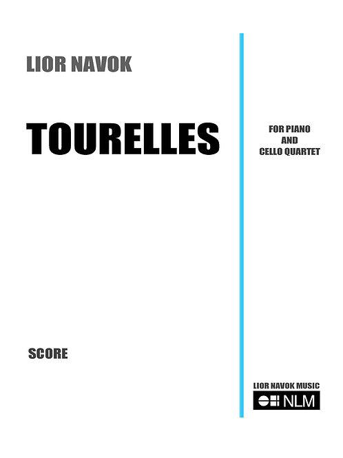 """Tourelles"" - for Cello Ensemble and Piano (score and parts) [PDF download]"