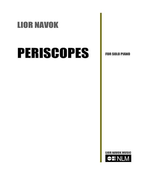 """""""Periscopes"""" - for Solo Piano [Hard Copy]"""