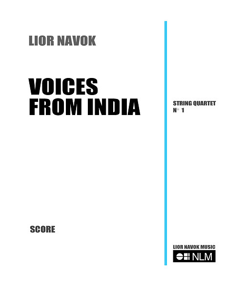 Voices from India  (full score) [PDF download]