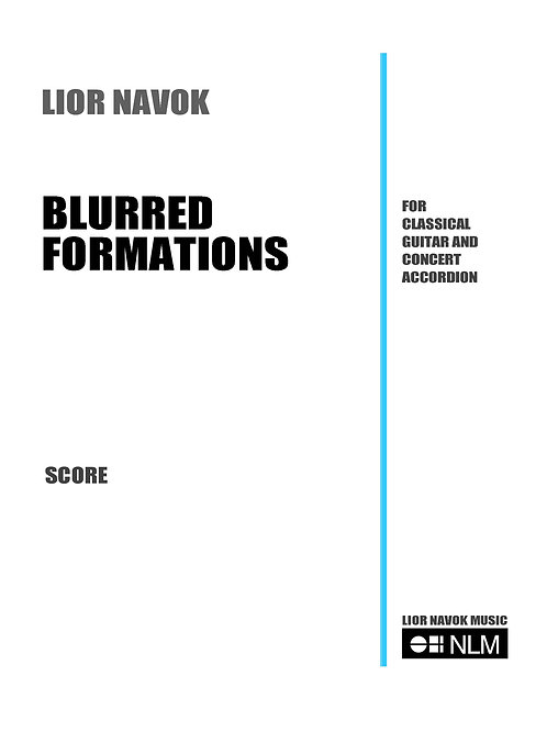 Blurred Formations (set of parts) [PDF download)