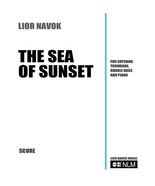 The Sea of Sunset [PDF download]