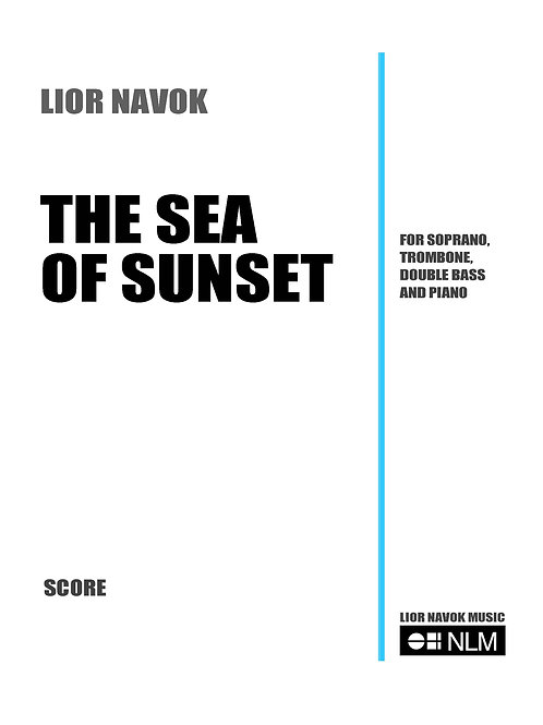 The Sea of Sunset [Hard Copy]