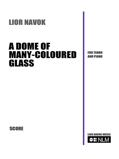 A Dome of Many-Coloured Glass [Hard Copy]
