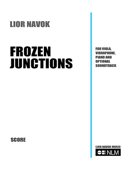 Frozen Junctions (score and parts) [PDF download]